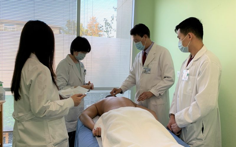 Dr, Wang's clinical training class-1